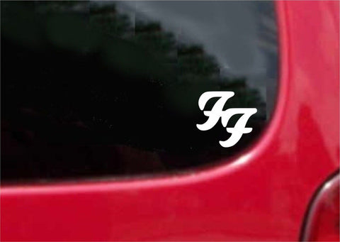 Foo Fighter Sticker Decal 20 Colors To Choose From.