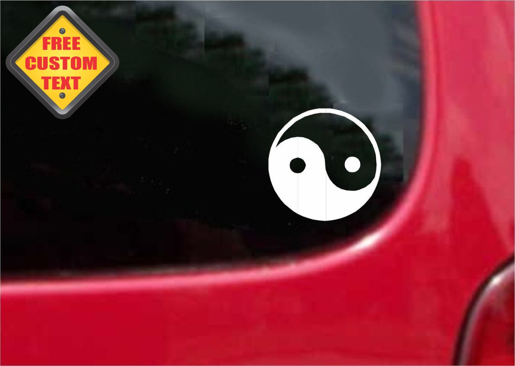 Yin Yang Sticker Decal 20 Colors To Choose From.