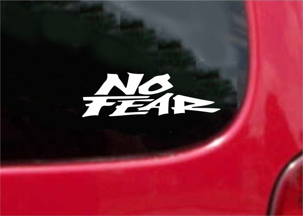 NO FEAR Sticker Decal 20 Colors To Choose From.