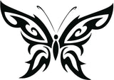 Tribal Butterfly Sticker Decal 20 Colors To Choose From.