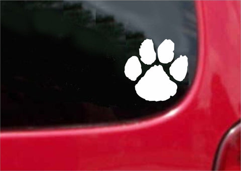 Wild Cat Paw Sticker Decal 20 Colors To Choose From.
