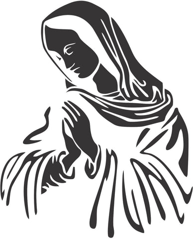 Our Lady of Guadalupe Sticker Decal 20 Colors To Choose From.