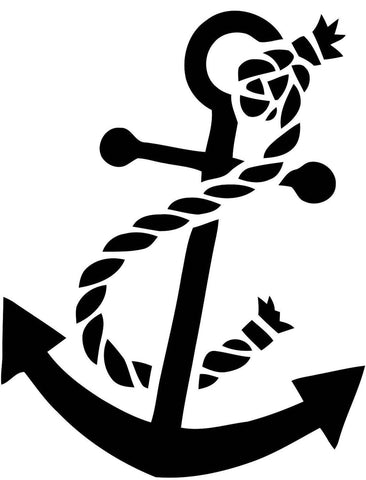Anchor Sticker Decal 20 Colors To Choose From.