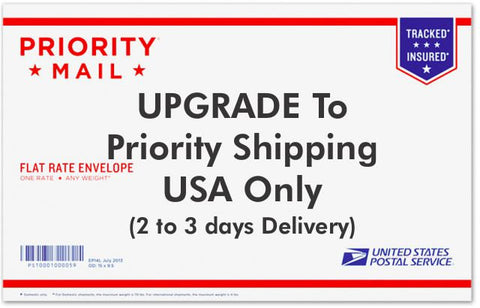 Priority Mail Upgrade - to US only