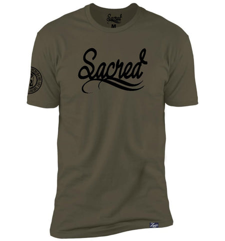 Sacred Solid Black [Army Green]