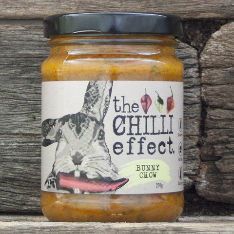 Bunny Chow - Spreadable Hot Sauce - The Chilli Effect