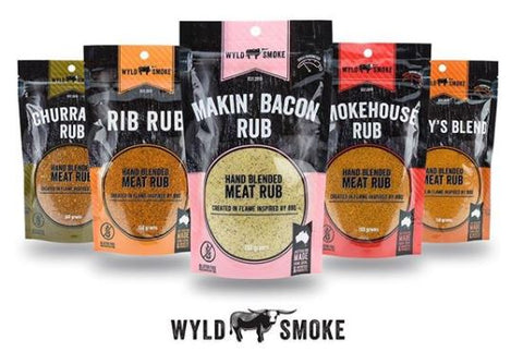 Wyld Smoke - BBQ Hero Pack - The Chilli Effect