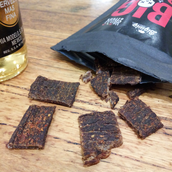 Big Burn - Extremely Hot Beef Jerky 100g - The Chilli Effect