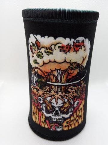 Stubby Cooler - Skull - The Chilli Effect