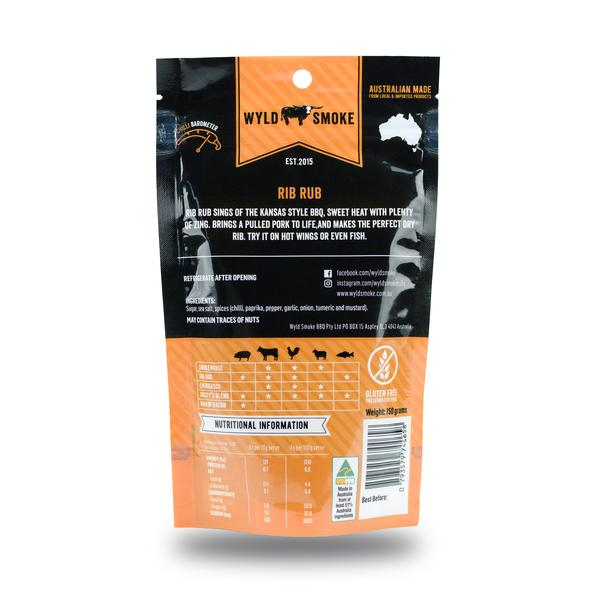 Wyld Smoke - Rib Rub BBQ Seasoning