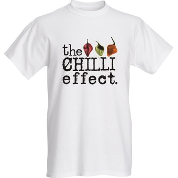 T Shirt - Live for the Burn - The Chilli Effect