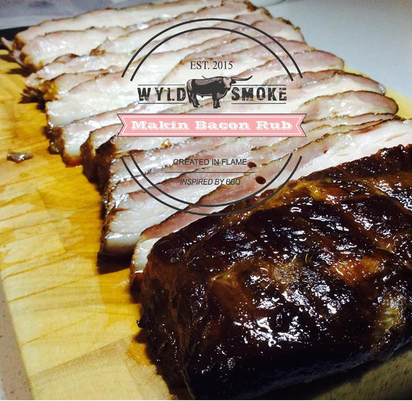 Wyld Smoke - Makin Bacon BBQ Rub - The Chilli Effect