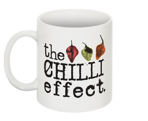 Mug - Live for the Burn! - The Chilli Effect