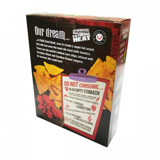 Reaper Corn Chips - The World's Hottest Corn Chip - The Chilli Effect