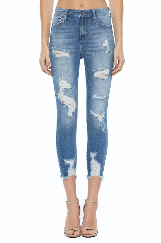 Blake High-Waisted Skinny Denim