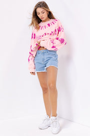 Summer Love Tie Dye Sweatshirt