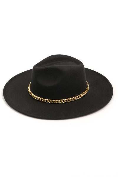Luxe Chain Hat - Black