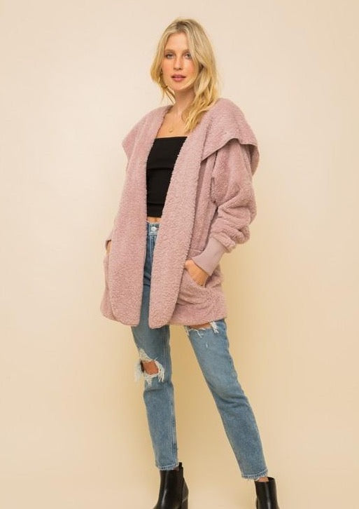 Cozy Everyday Sherpa - Mauve