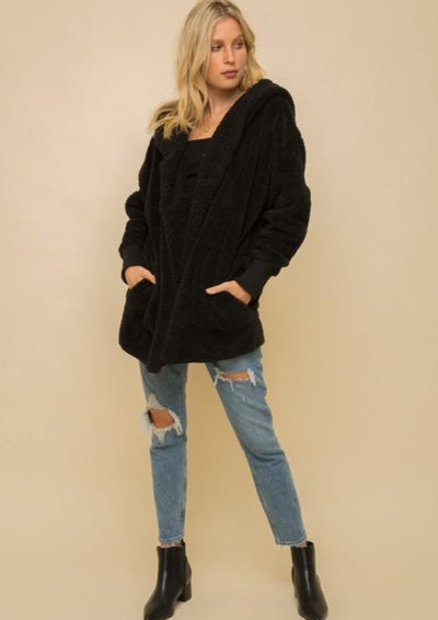 Cozy Everyday Sherpa - Black