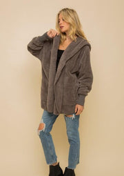 Cozy Everyday Sherpa - Steel Gray