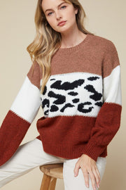 When I'm With You Colorblock Sweater