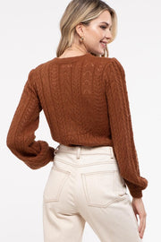 Harvest Open Knit Sweater