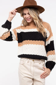 Happy Fall Colorblock Sweater