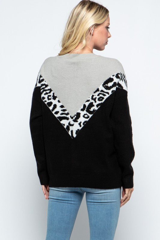 Without a Doubt Leopard Sweater