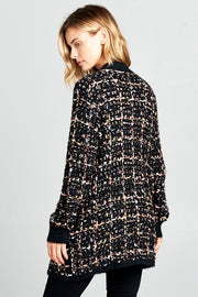 Love You Like Chanel Tweed Cardigan
