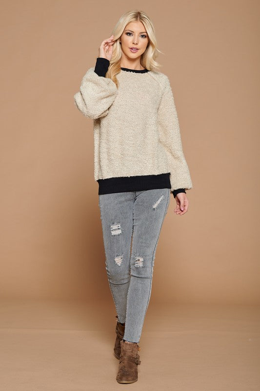 Boucle Touch Pullover
