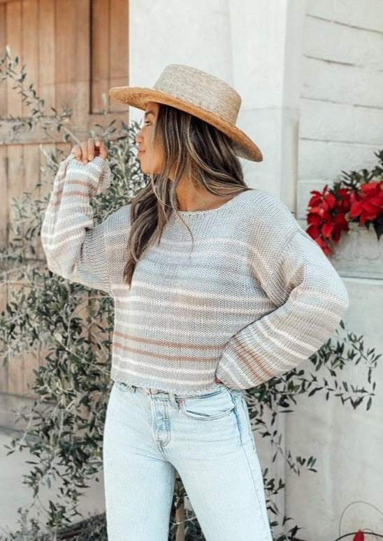 Lennox Stripe Sweater