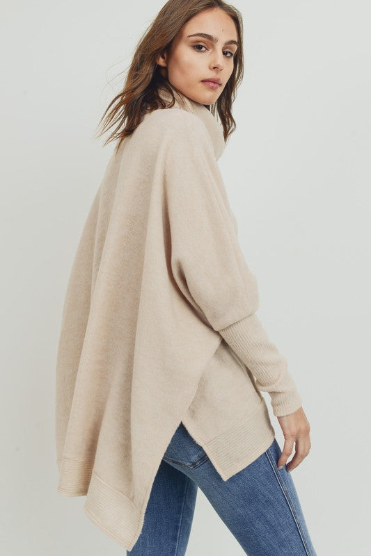 Warm Latte Relaxed Sweater