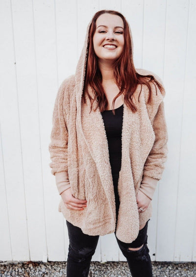 Cozy Everyday Sherpa - Taupe