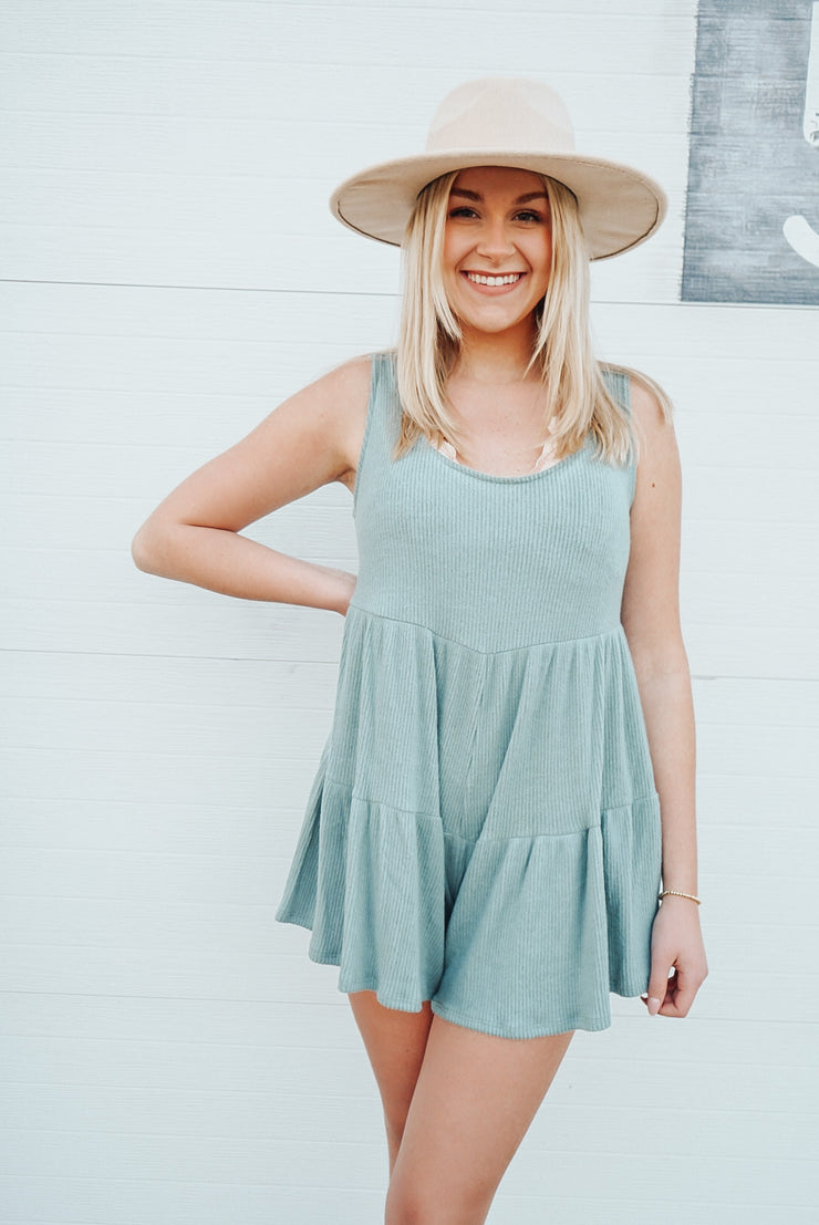 Magic Is In You Teal Romper
