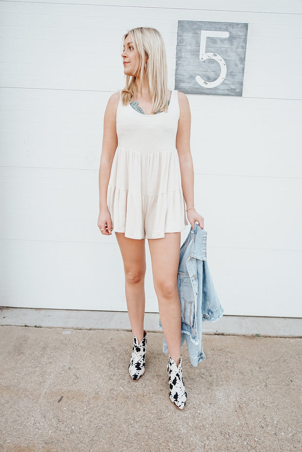 Magic Is In You Cream Romper