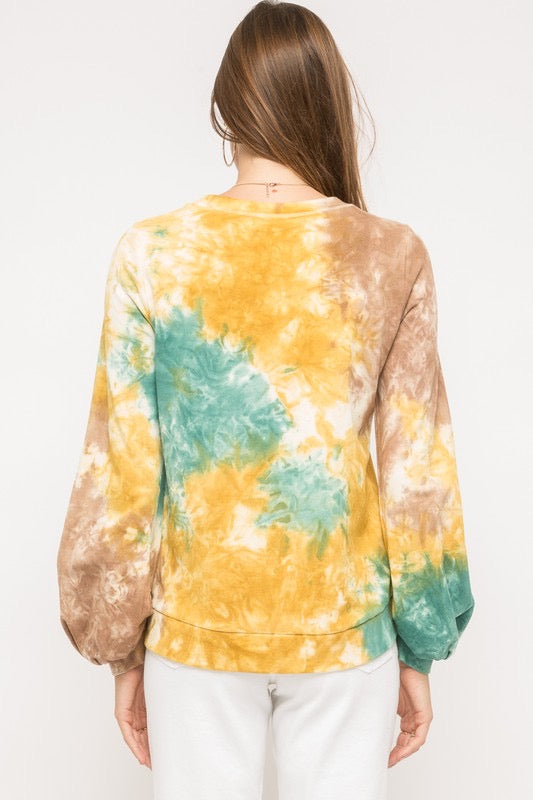 Unforgettable Tie Dye Top