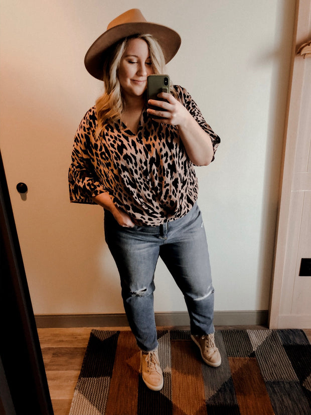 Wild Things Leopard Top