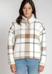 Tis The Season Plaid Pullover
