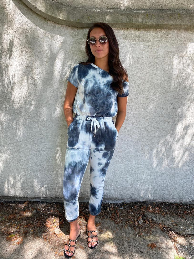 No Rules Tide Dye Jumpsuit