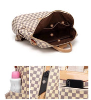 Louie Check Backpack