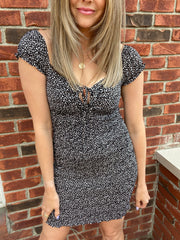 Date Night Smock Dress