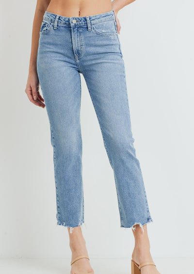 Roman HR Straight Leg Denim