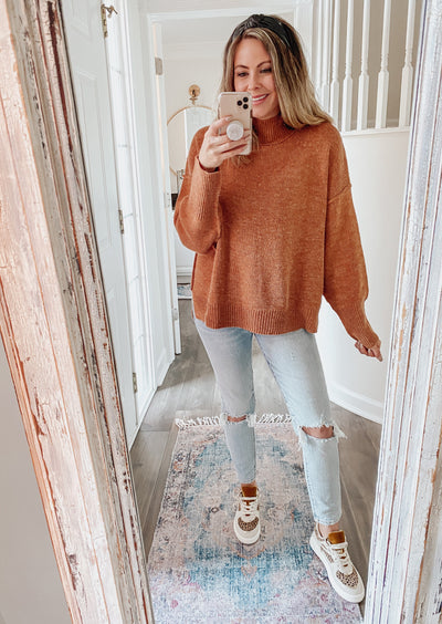 Cozy Up Dolman Sleeve Sweater