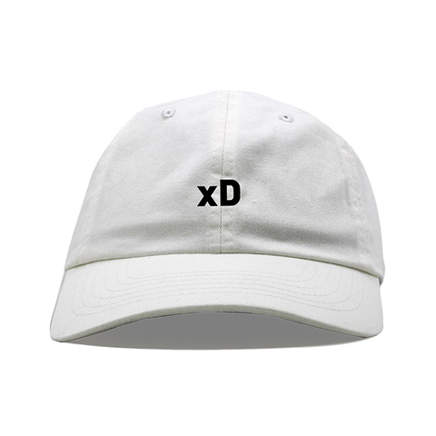 xD Dad Hat - White