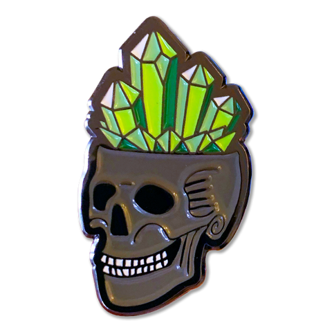 Pin - Crystal Skull
