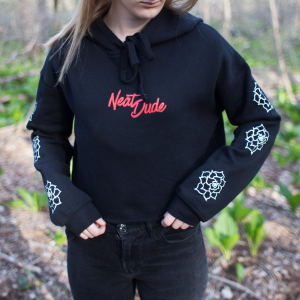 Signature Cropped Girly Hoodie