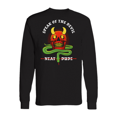Speak of the Devil Long Sleeve Tee