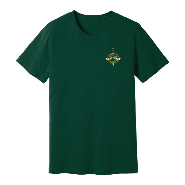 Dagger Tee - Forest Green