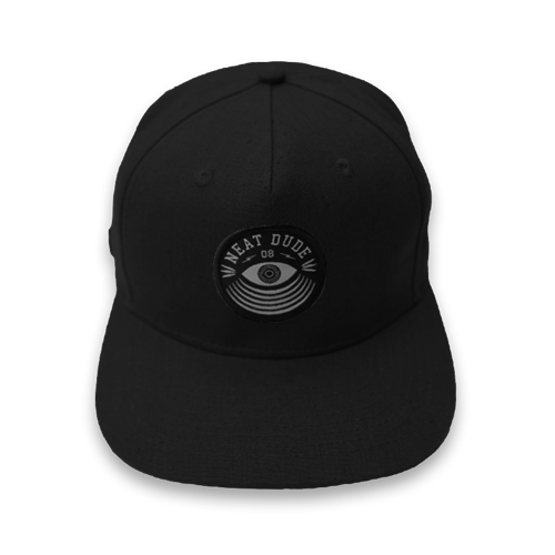 Eyepatch Snapback - Black