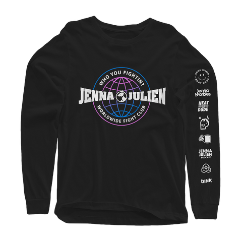 Neat Dude X JennaJulien - Fight Club Long Sleeve Tee